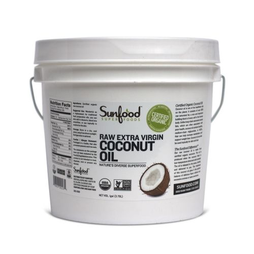 Sunfood Coconut Oil - 1 Gallon