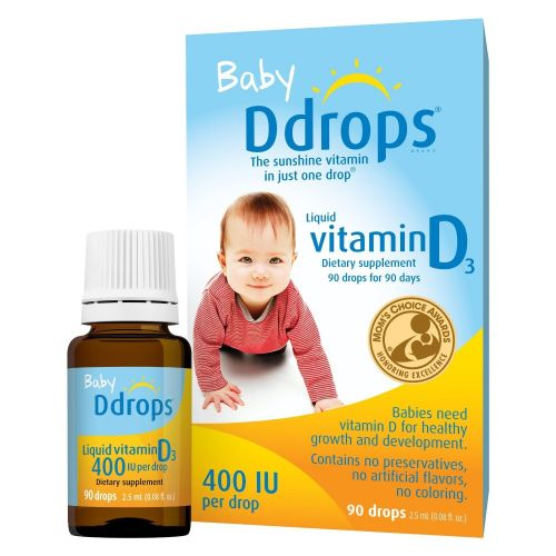 D Drops Liquid Vitamin D3 Baby - 90 DROP