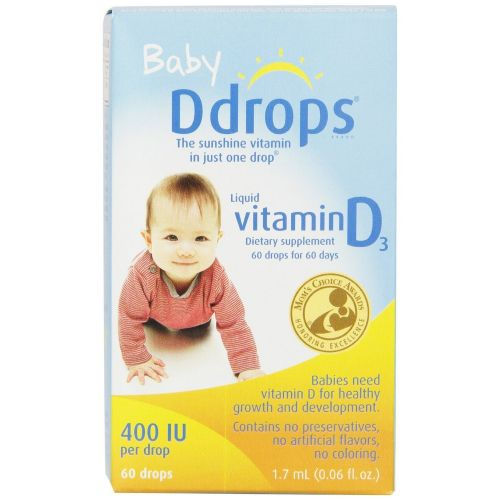 D Drops Liquid Vitamin D3 Baby - 60 DROP