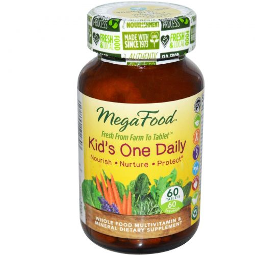 Megafood Kids One Daily - 60 Tablets