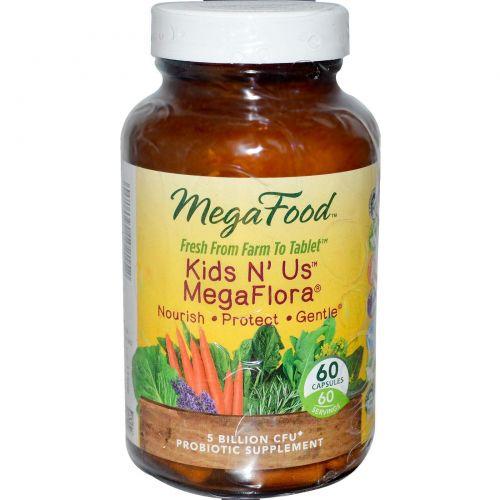 Kids N' Us MegaFlora 60 Veg Caps