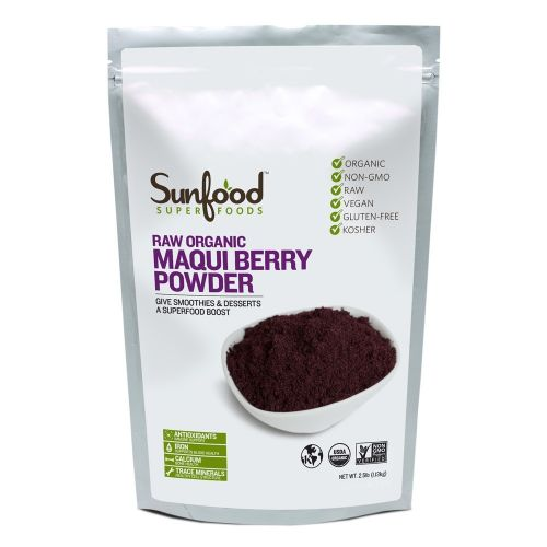 Sunfood Maqui Berry Powder - 2.5lbs