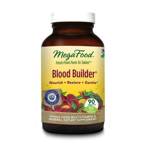 MegaFood DailyFoods Blood Builder 90 tablets