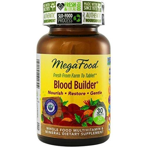 Blood Builder 30 tablets MegaFood DailyFoods