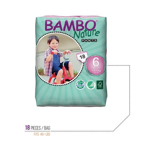 Bambo Nature XL Training Pants - 90 pieces in case