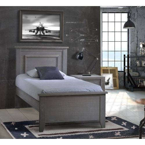 Rustic Twin Bed 39″