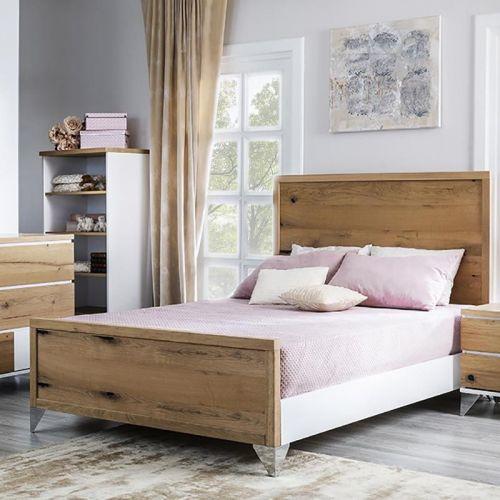 Romina Pandora Full Bed Oak...